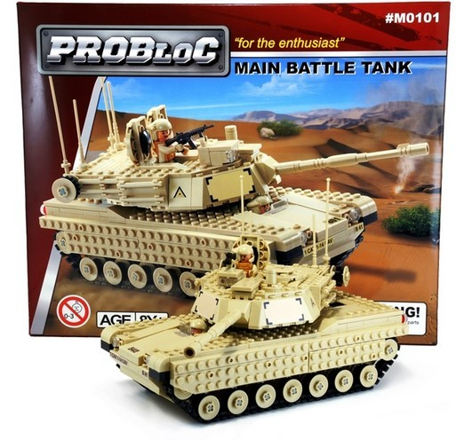 PROBLOC #M0101 OUTLET-Main Battle Tank (15% OFF)