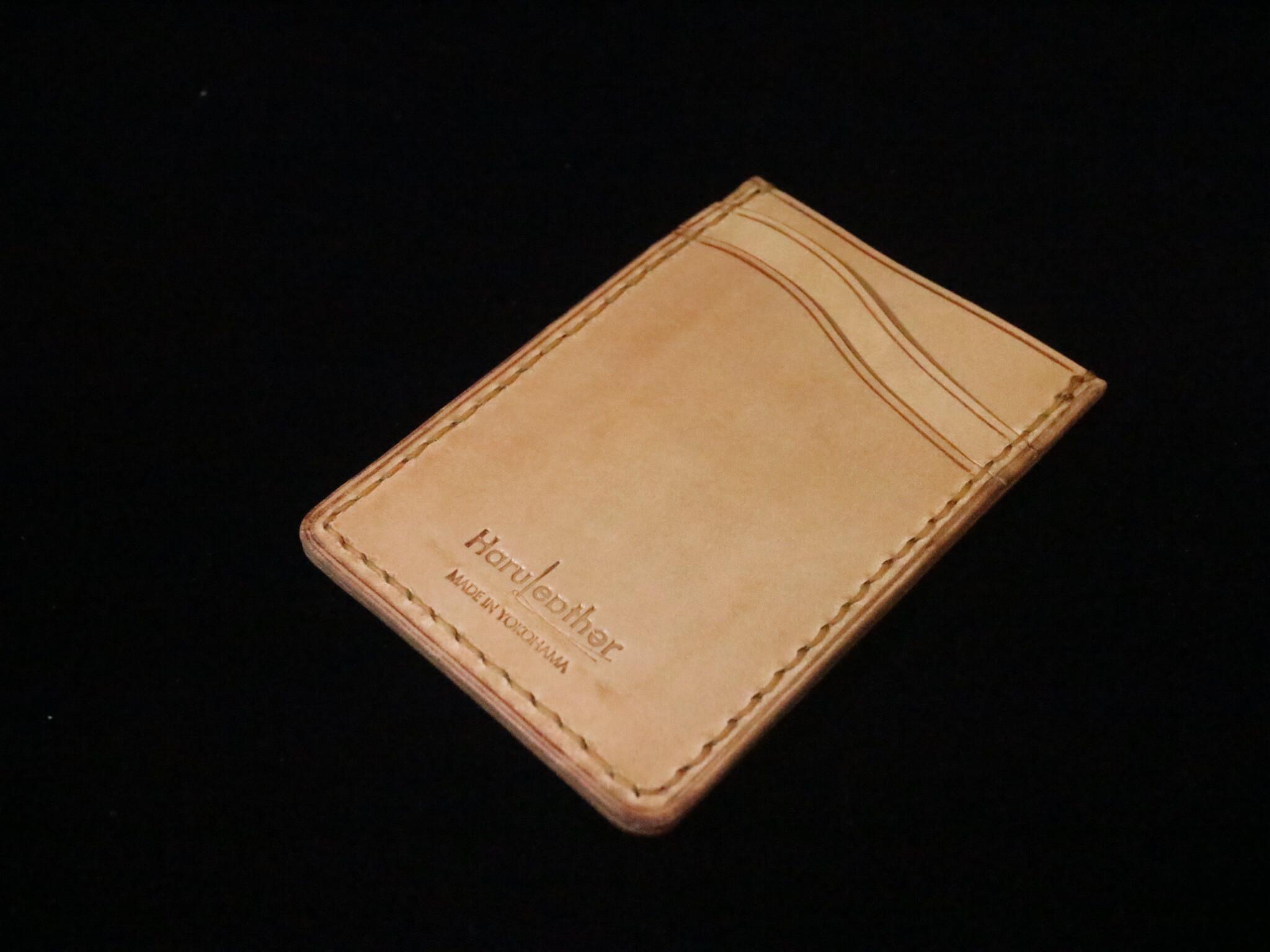 カードケース  パスケース ロロマレザー ナチュラル