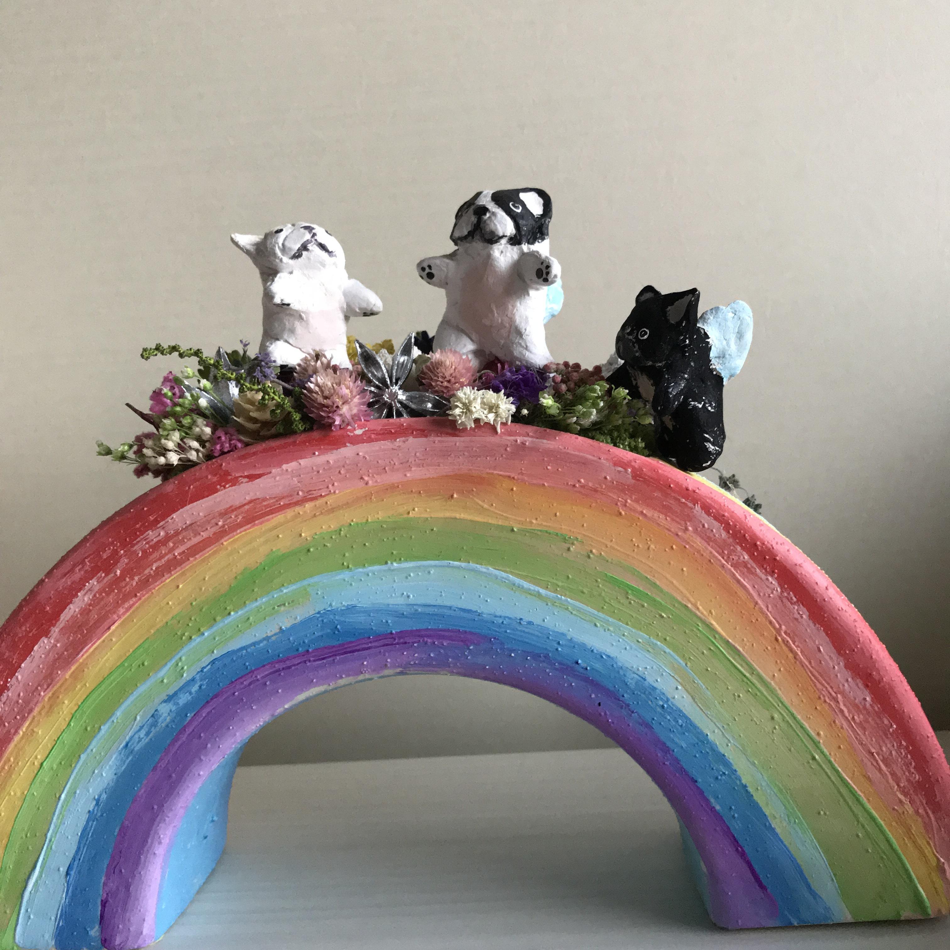 虹の橋の天使BUHI