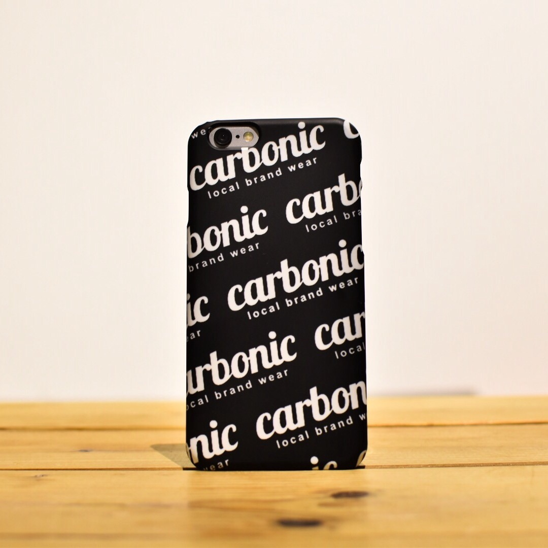 carbonic smartphone case ICON bom BK
