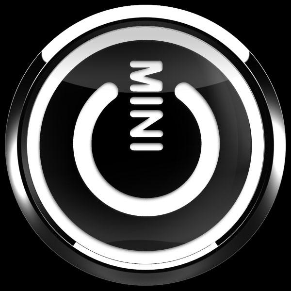 ゴーバッジ(3D)(LC0142 - 3D MINI POWER BLACK) - 画像3