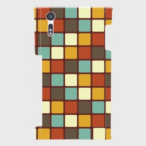 モザイクタイル(カラー)/ Androidスマホケース(ハードケース)