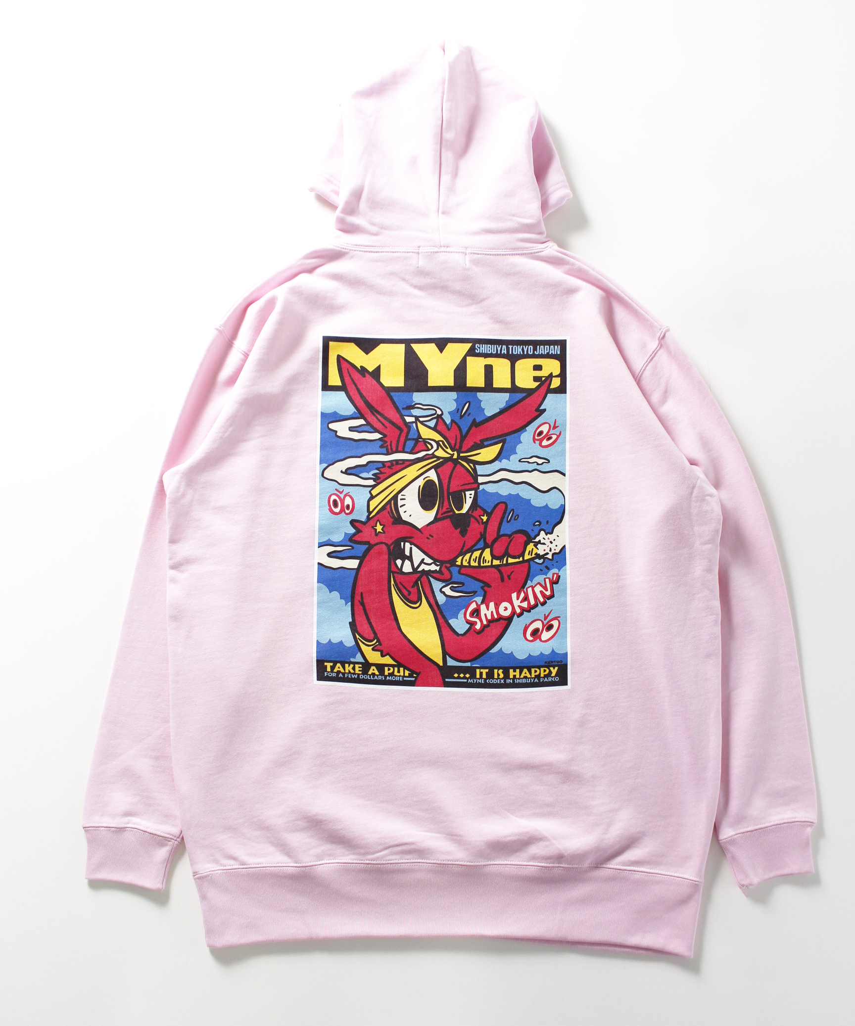 MYne CODEX 別注 Hoodie / PINK - 画像3