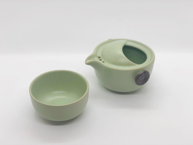 茶器セット・緑