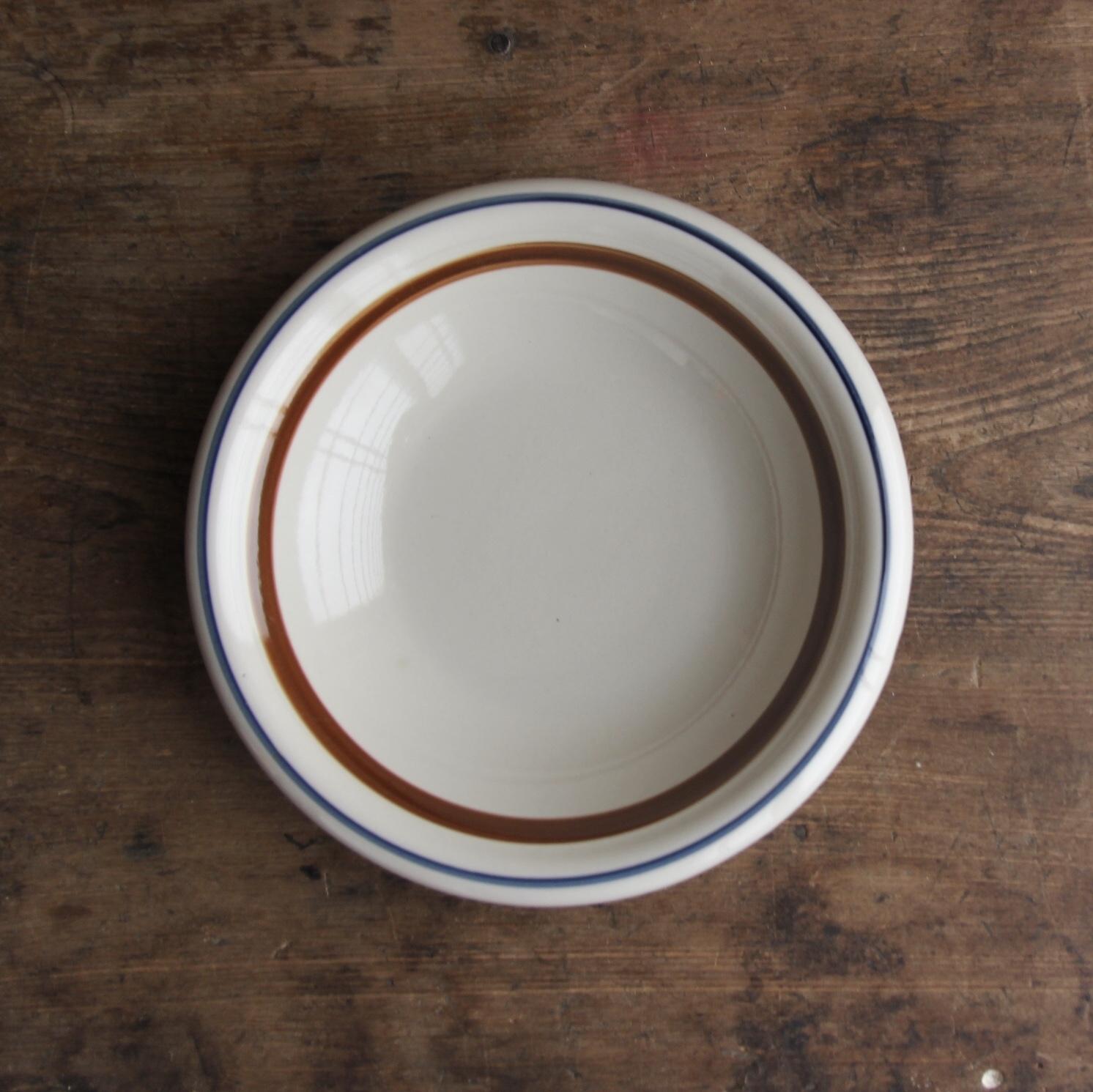 縁くるりんのライン皿 在庫2枚