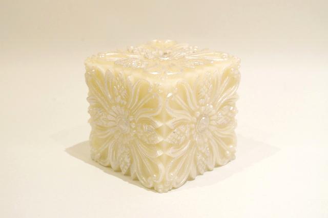 Campaka Cube/Silver