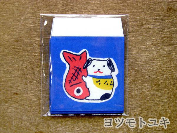 たね袋 - 鯛狆(4枚入り) - ヨツモトユキ