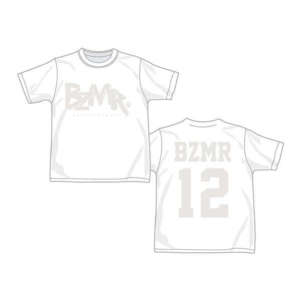 BZMR [Classic LOGO Tee] White on White. - 画像1