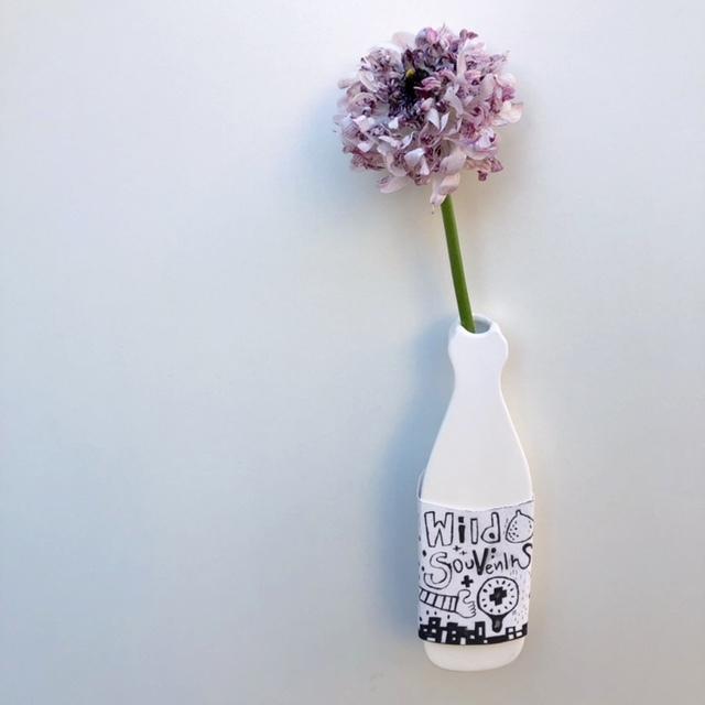 デコハジメ(decco×ナカハジメ) -bottle-花器