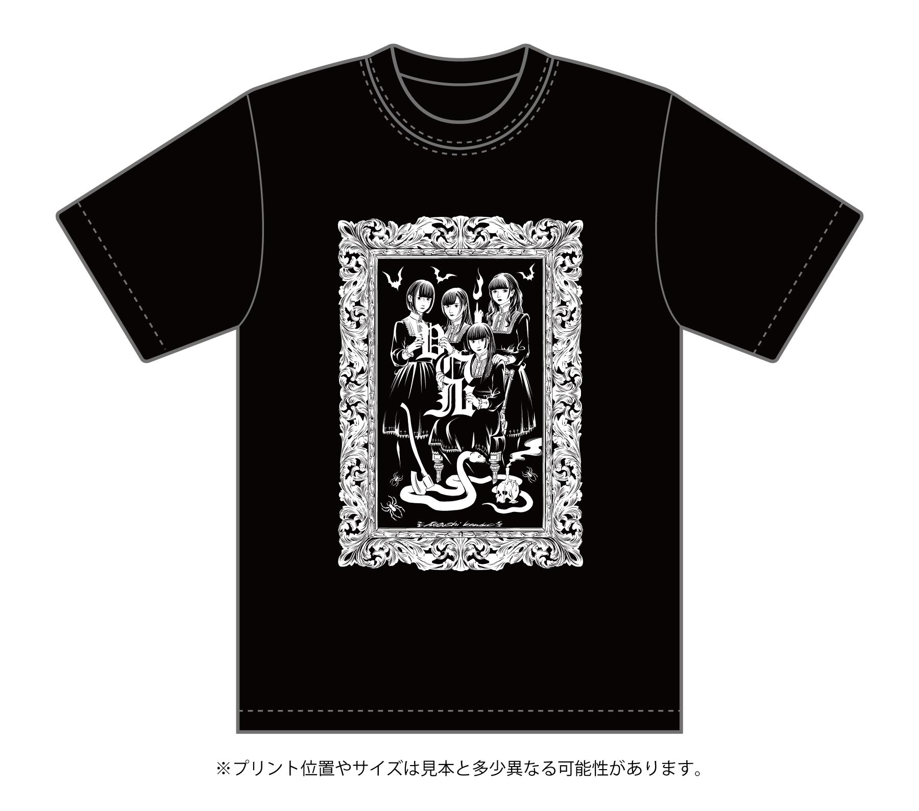 じゅじゅ×カネコアツシ コラボTシャツ
