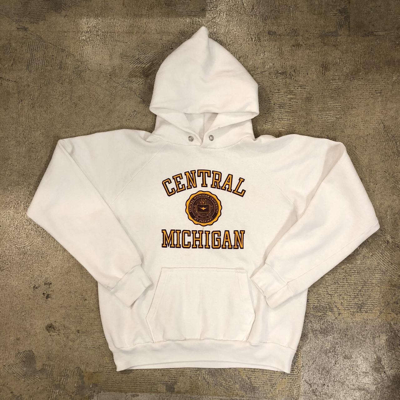 80's Champion Central Michigan Hoodie ¥8,800+tax