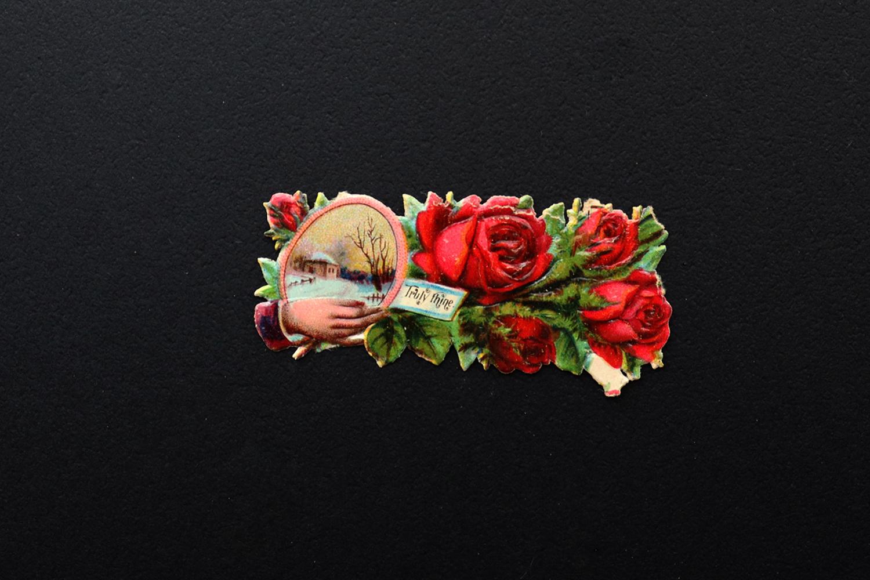 【ドイツ】右手と薔薇のクロモス / Truly thine.