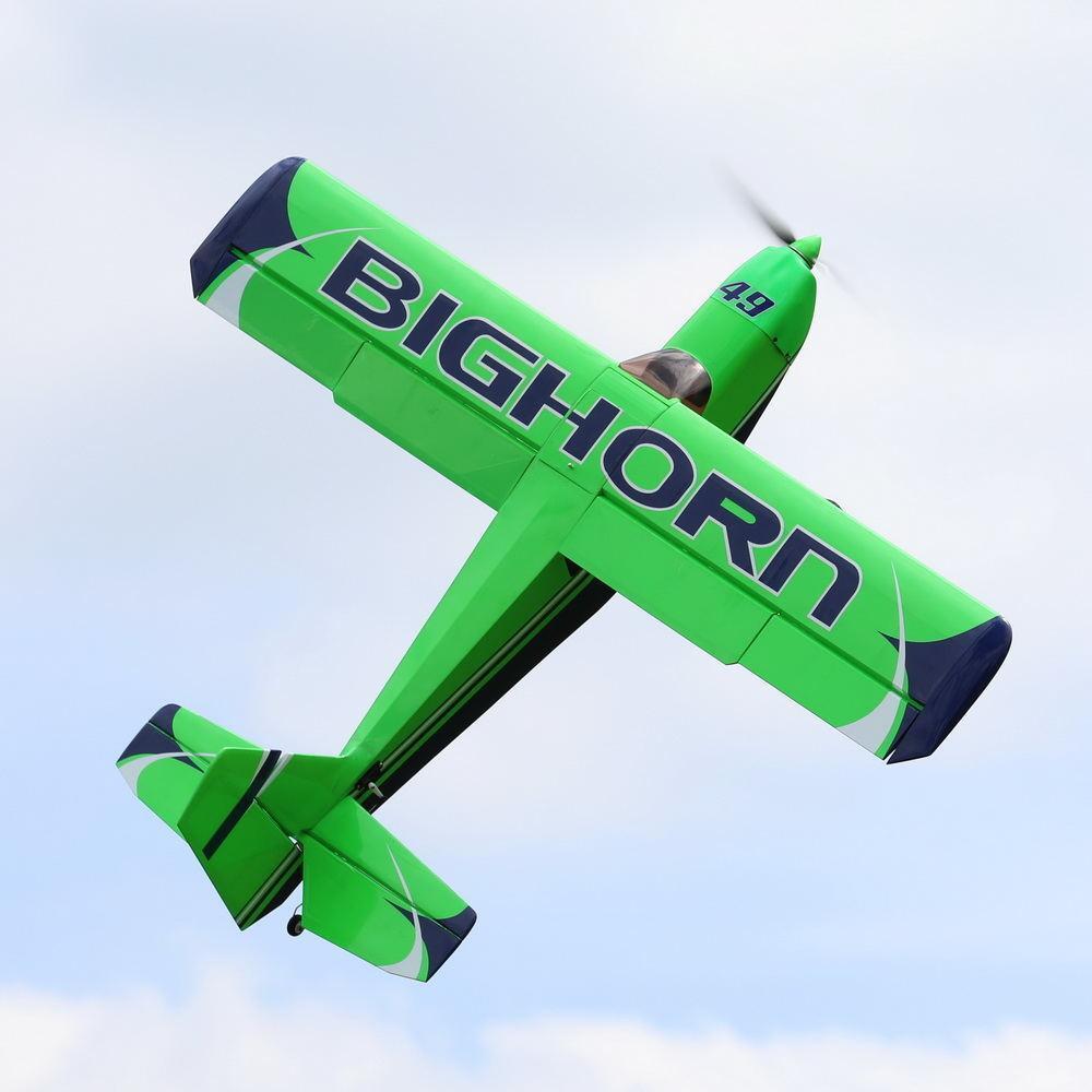 OMPバルサ飛行機予約受付致します◆OMPHOBBY  BIGHORN Pro49 セスナ飛行機 3Dフライト可能