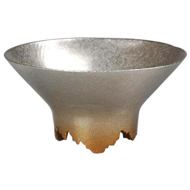 SHIKICOLORS Gold Sake Cup