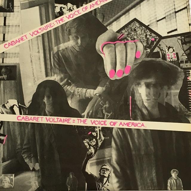 【LP・米盤】Cabaret Voltaire  /  The Voice Of America
