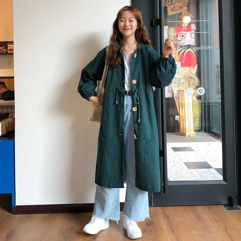 【送料無料】ゆったり着れるシャツコート☆ ロングジャケット カジュアル