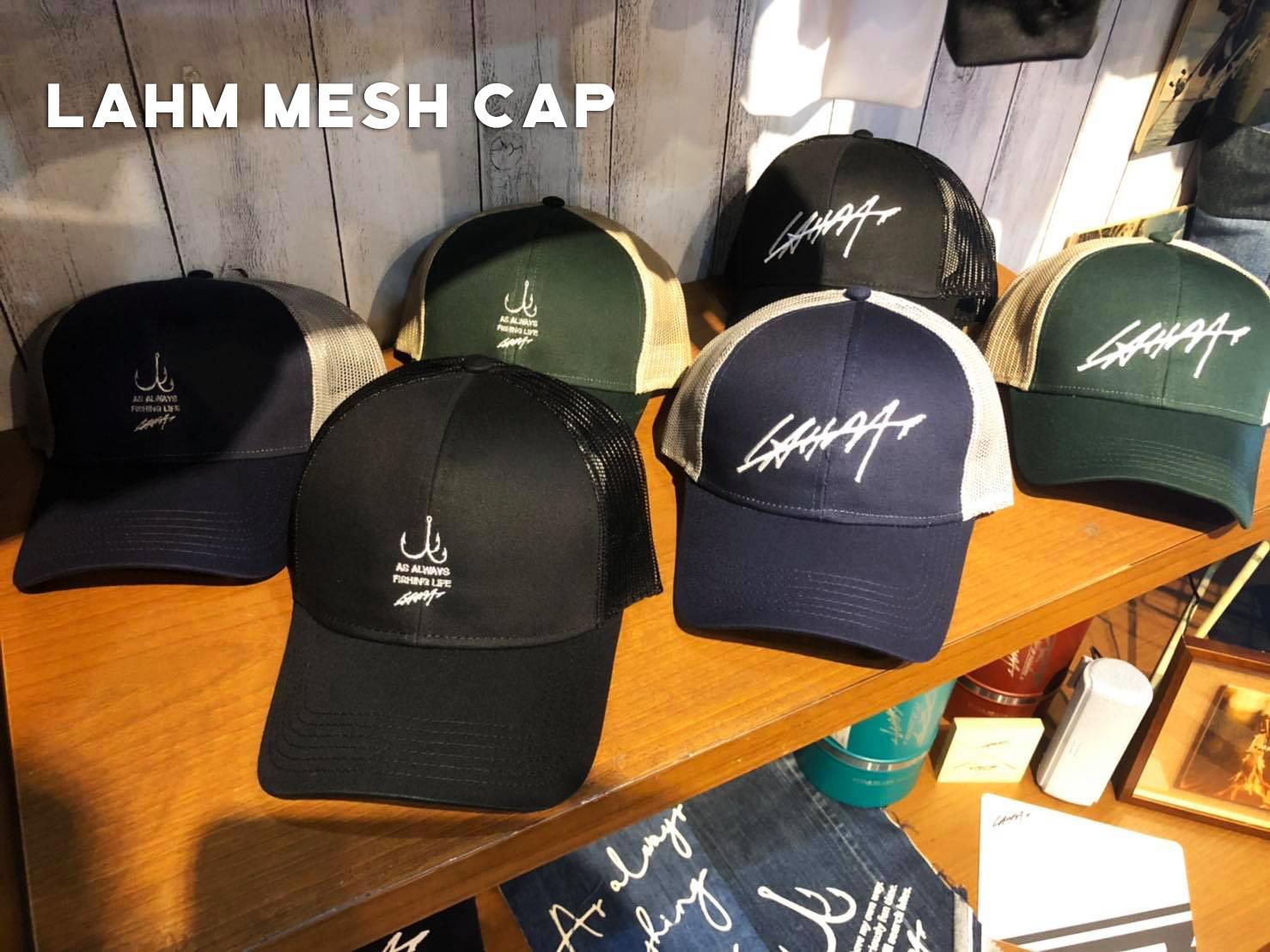 【LAHM NEW!】【新入荷】LAHM 2019メッシュCAP LAHM(エルエーエイチエム)