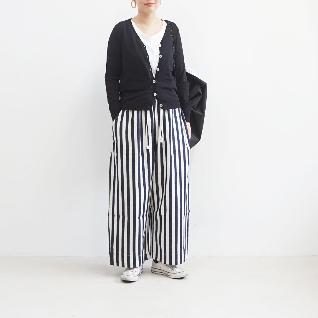 ichi イチ Vネック長袖カーディガン 【返品交換不可】 (品番191164)