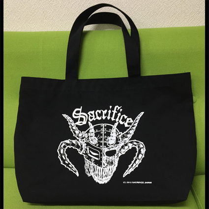 "SACRIFICE ""Crest Of Black"" トートバッグ"