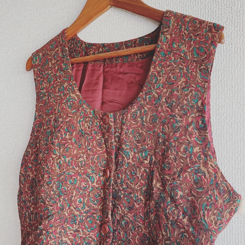 【SALE】vintage design vest
