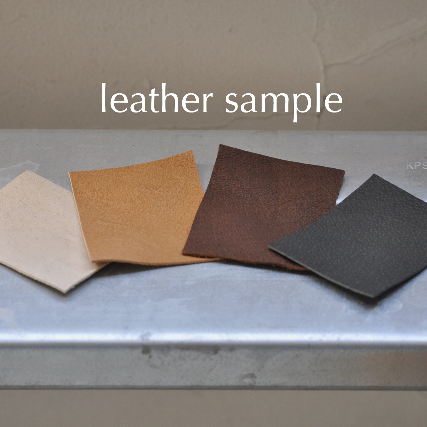 leather sample【豚革】