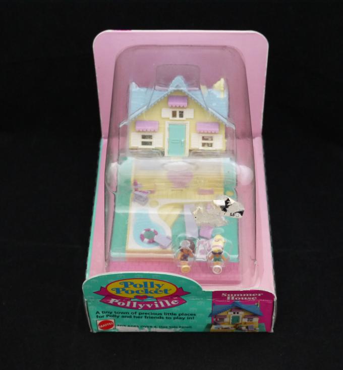 コレクターズアイテム サマーハウス 1993年 新品 ポーリータウンシリーズ