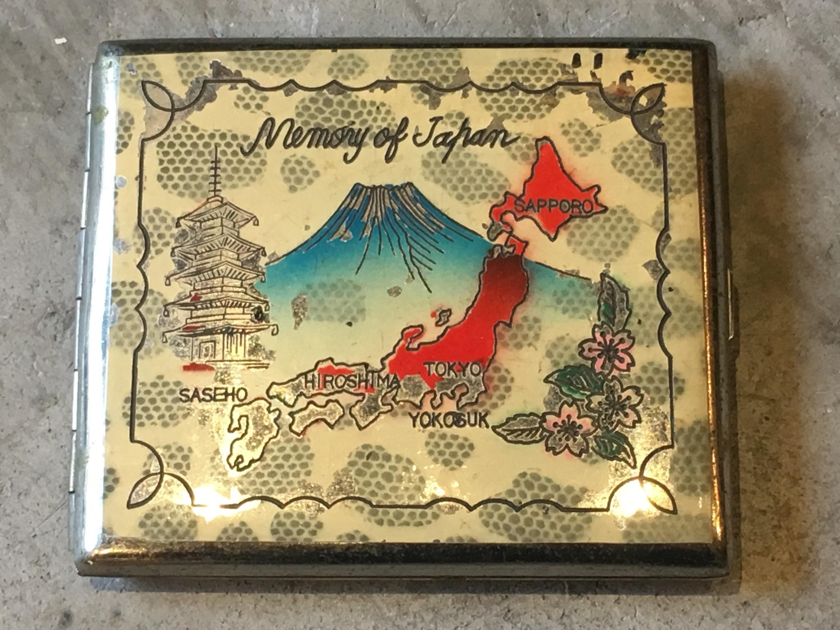 1950's JAPAN SOUVENIR CIGARETTECASE