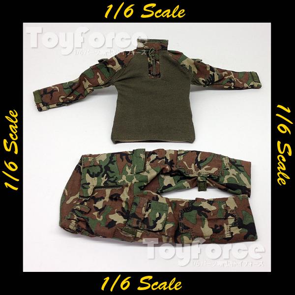 【02670】 1/6 Soldier Story Marine Raiders ウッドランドカモ 戦闘服