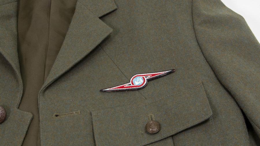 ウルトラセブン ウルトラ警備隊 ワッペン (着脱式) 2枚セット  / グルーヴガレージ