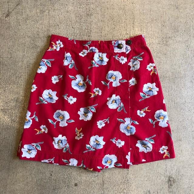 Floral Short Pants ¥4,400+tax