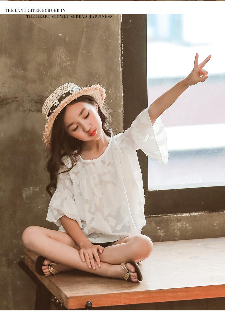 93eda922fff48 120-160 2点セット カットソー ショートパンツ デニム セットアップ ストライプ 春 夏 新作 子供服 子ども服 ママ お揃い 韓国子供服  可愛い 女の子