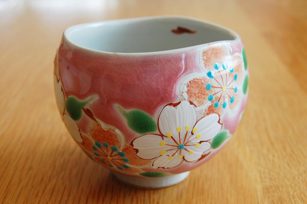 いっぷく碗 彩日和【桜】ピンク