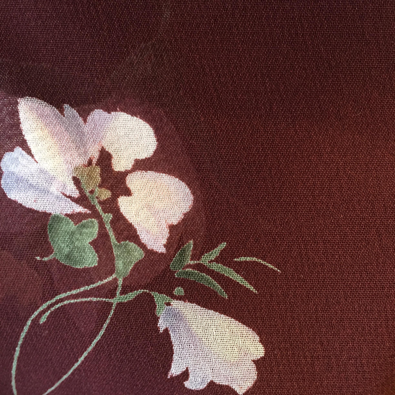 vintage flower onepiece