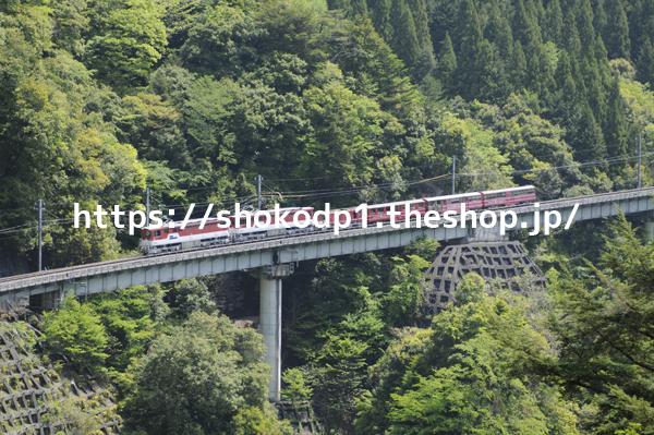大井川鐵道井川線と山_dsc6562