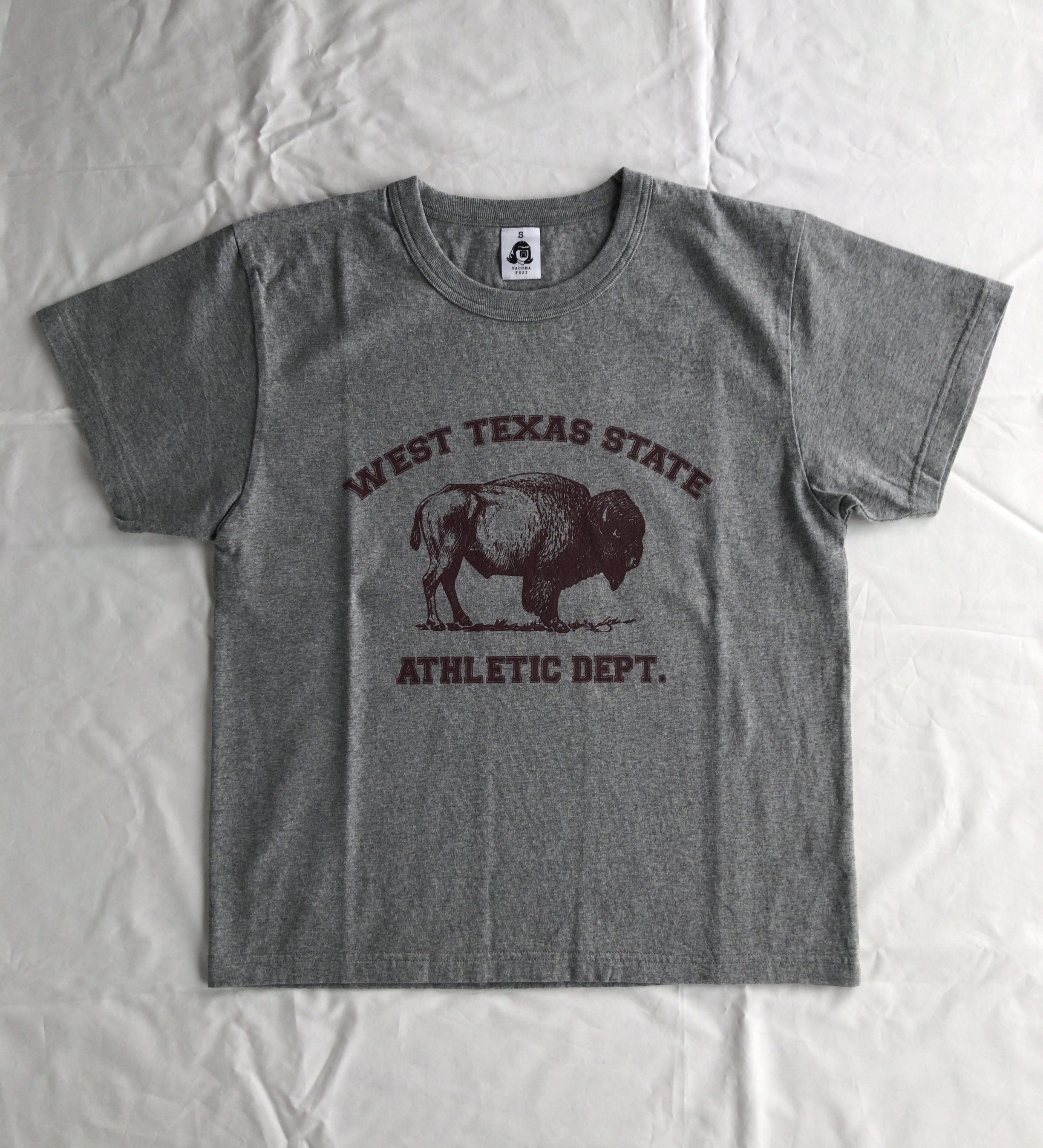 TACOMA FUJI RECORDS  WEST TEXAS STATE ATHLETIC DEPT.  designed by MATT LEINES  HEATHER GRAY
