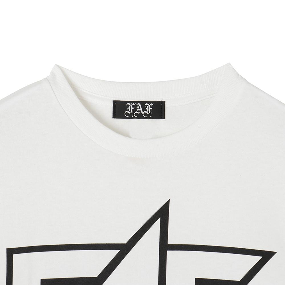 FAF Logo Tee - White - 画像2