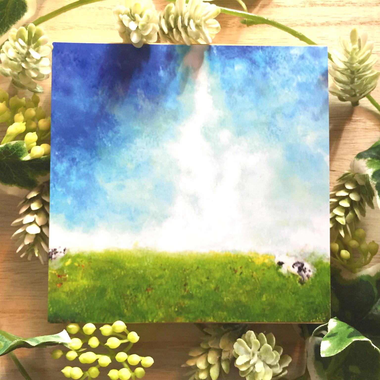 絵画 インテリア アートパネル 雑貨 壁掛け 置物 おしゃれ 風景画 抽象画 ロココロ 画家 : MP 作品 : ときはなつ