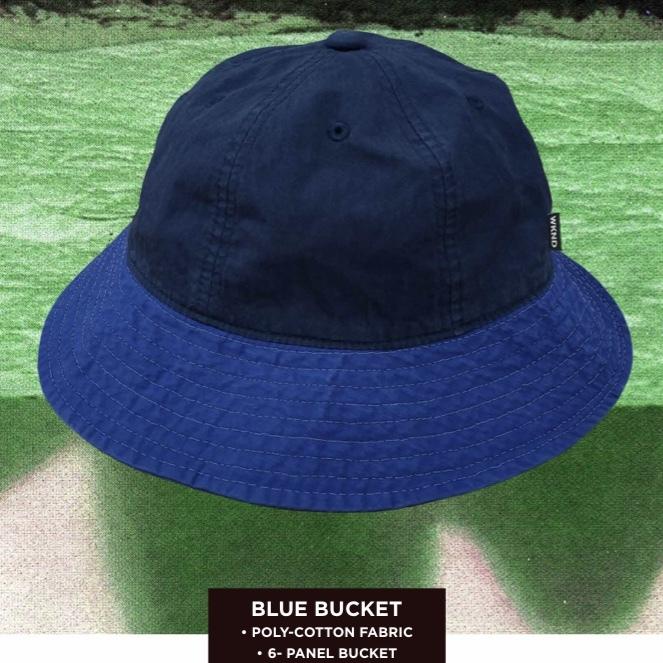 W.K.N.D 【BLUE BUCKET HAT】