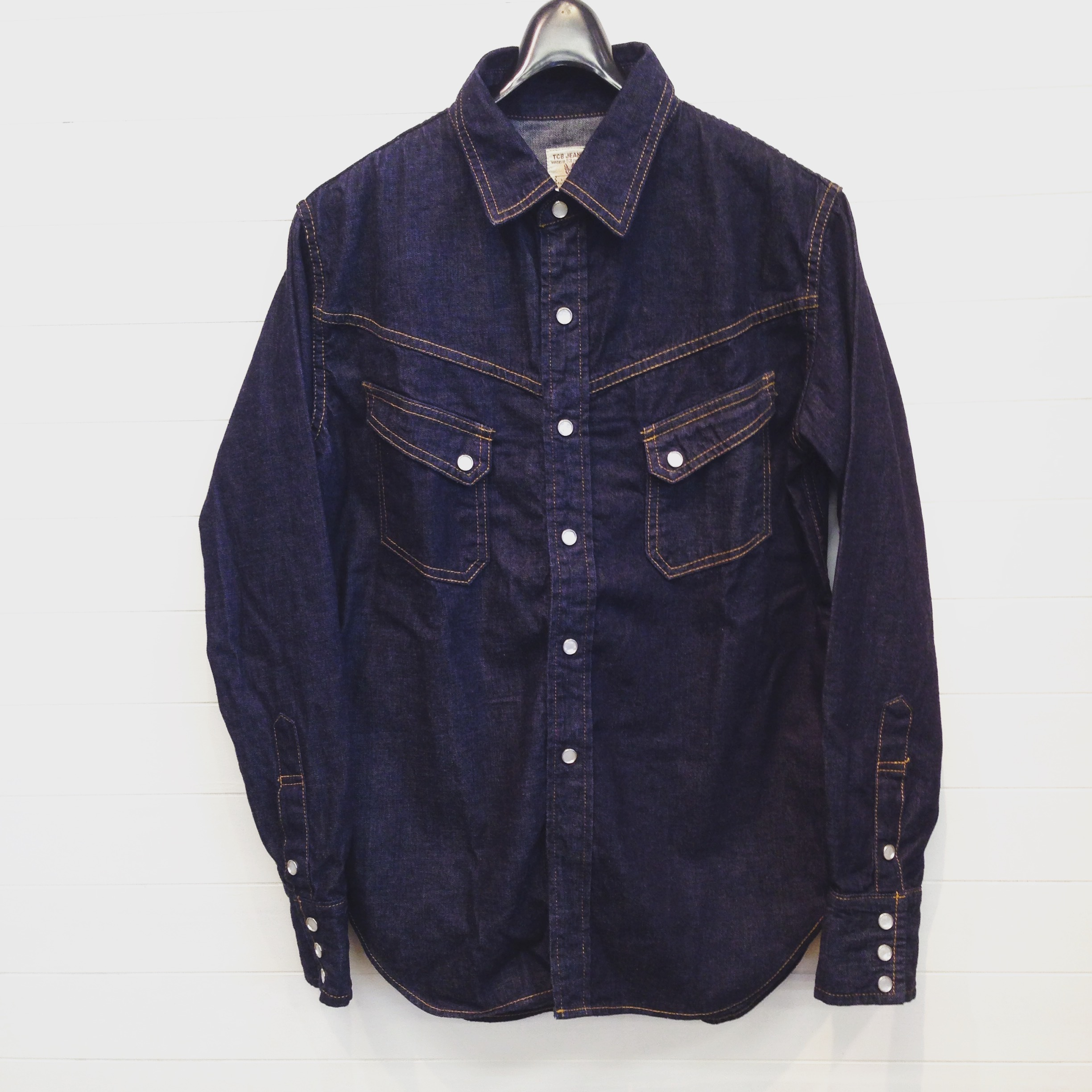 TCB(ティーシービー) RANCHMAN  SHIRT  DENIM