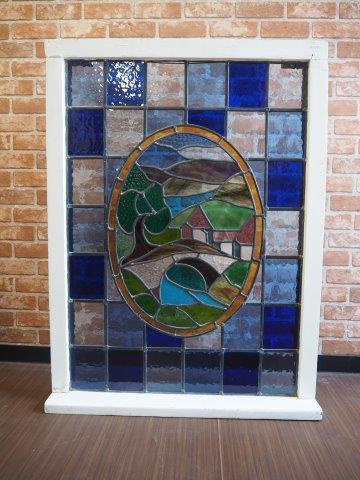 品番0550 ステンドガラス / Stained Glass Window 011