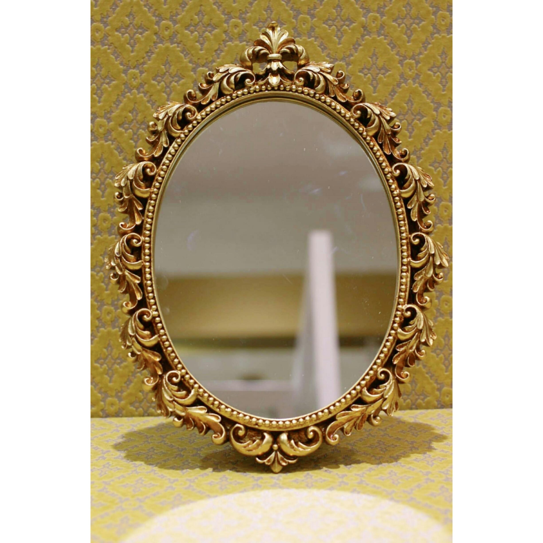 アンティークゴールド/壁掛鏡/スタンドミラー 浜松雑貨屋 C0pernicus