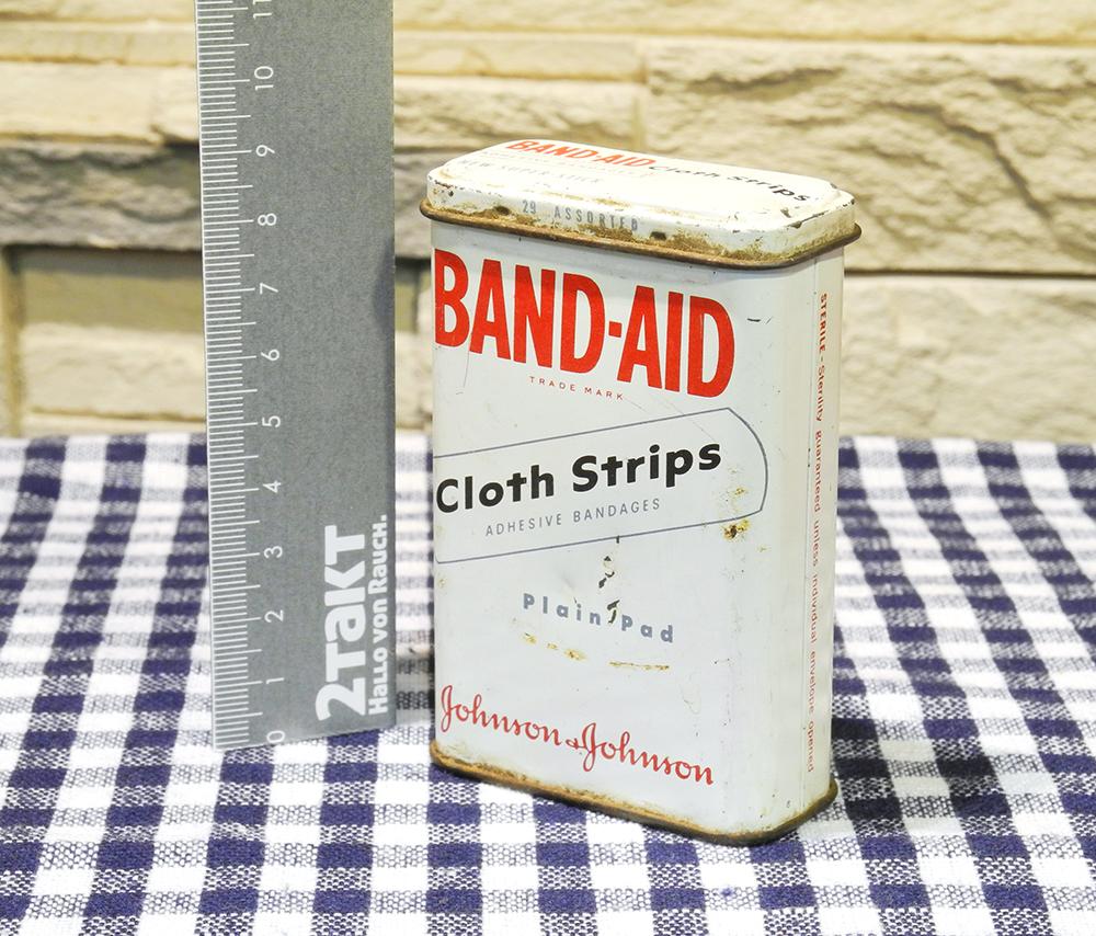 【Vintage/Used品】Vintage tin BAND-AID ヴィンテージ缶/146