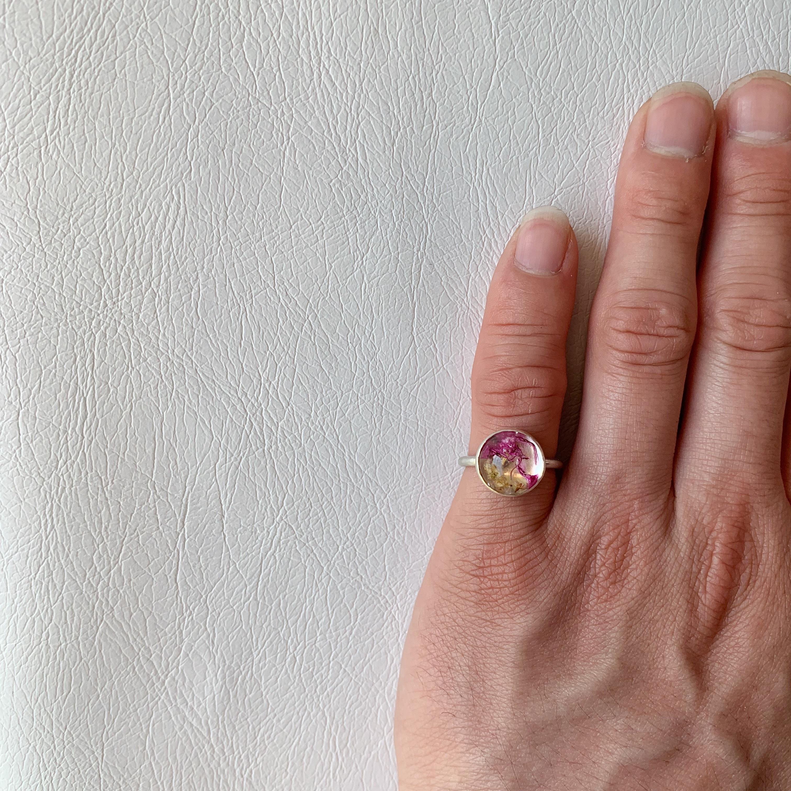 指元を飾るハーブ 大