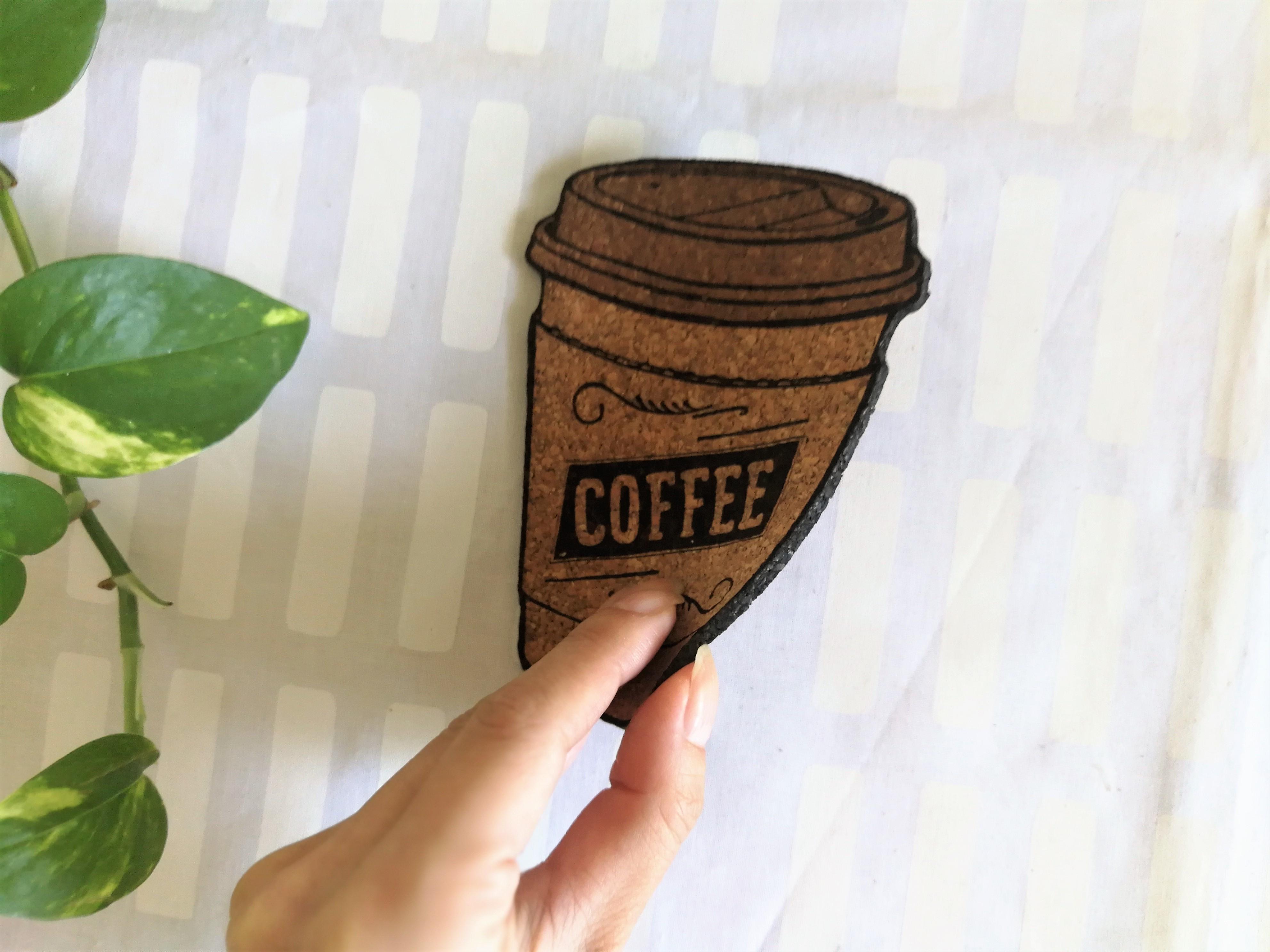 [再入荷] コーヒーカップのコースター / THE TOKYO CORK / コルクコースター