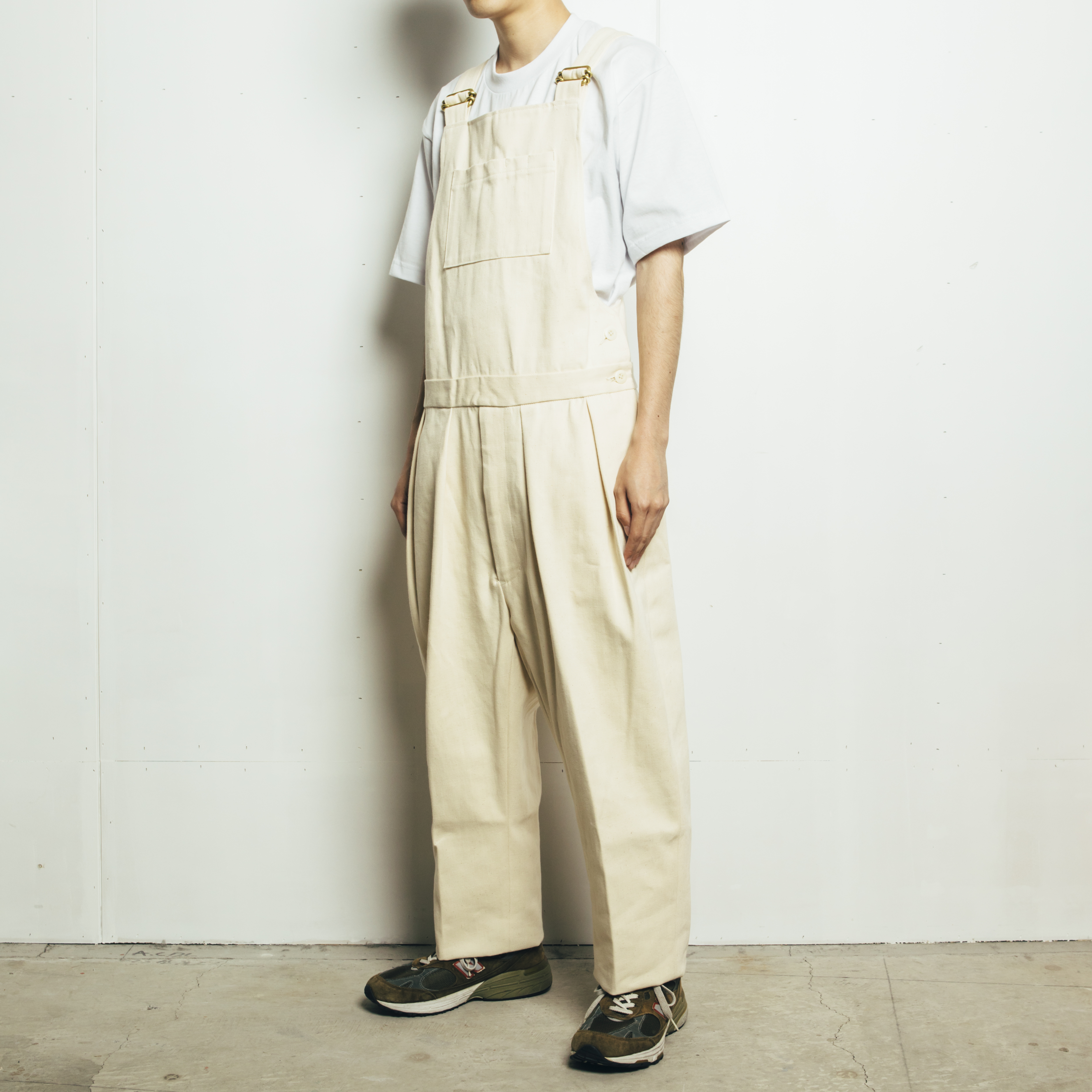 NEAT <OVERALL> CONE MILLS WHITE DENIM