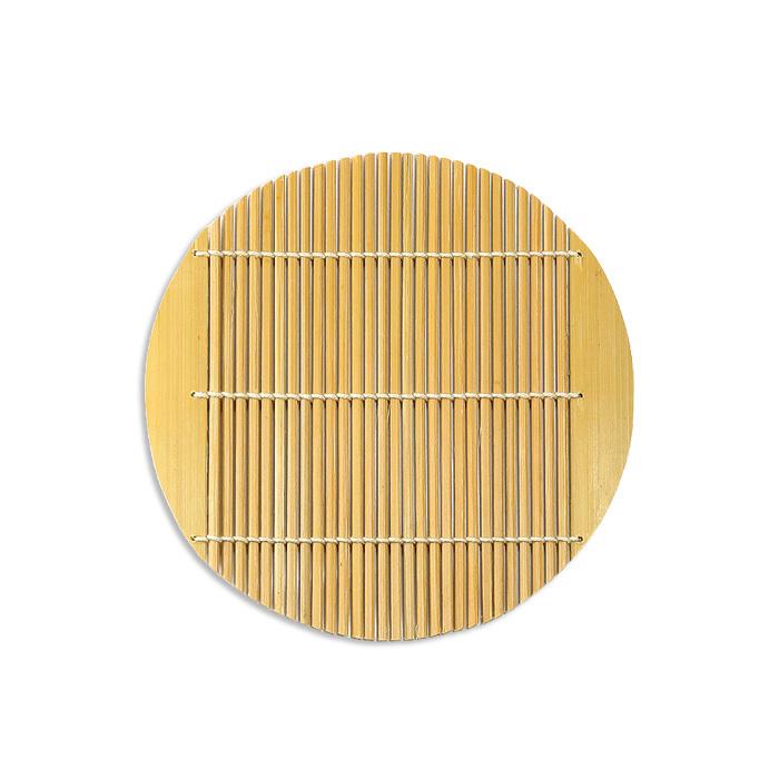 磨き竹すだれ 丸15.5 【58-021】