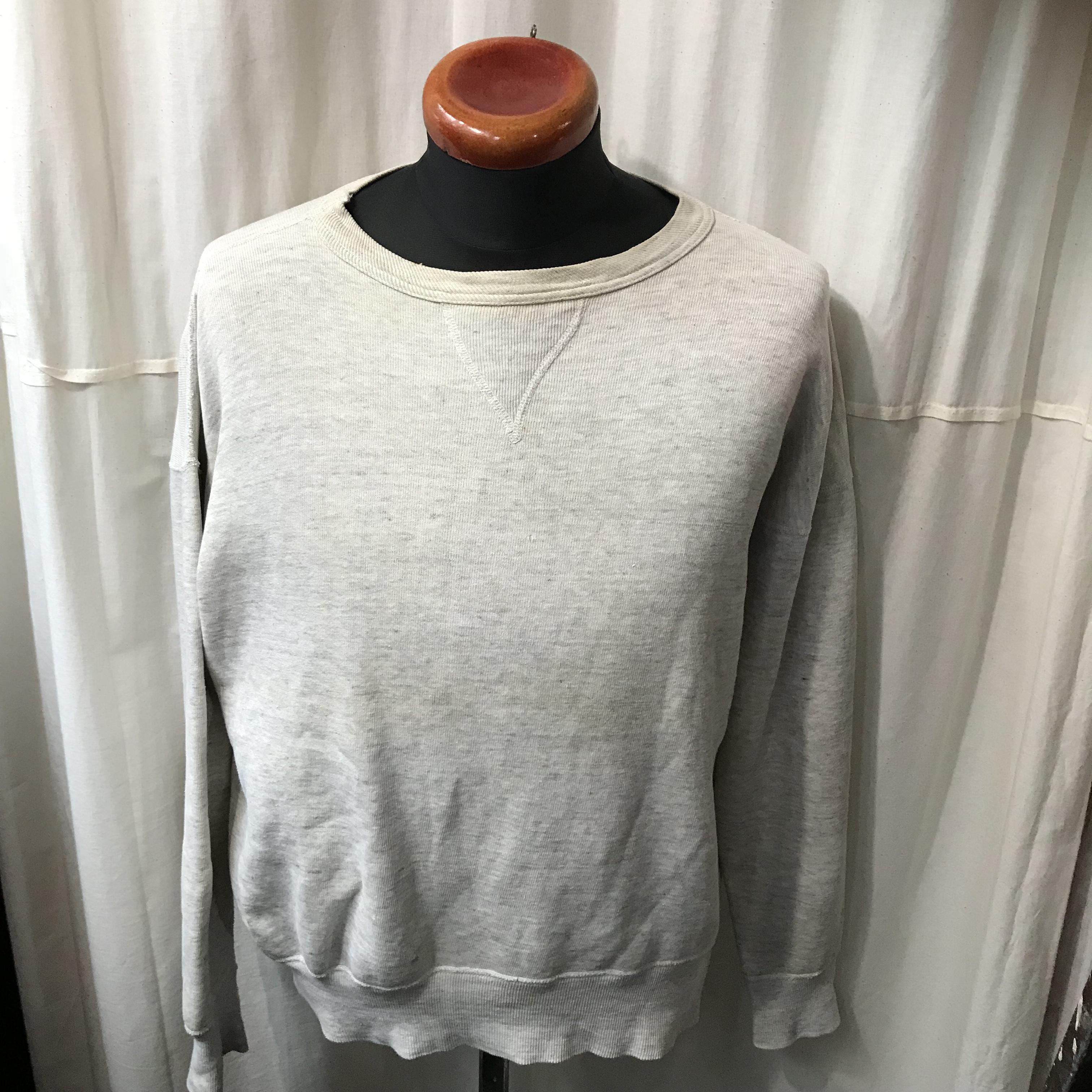 50's vintage 前Vスウェットシャツ メンズL~XL