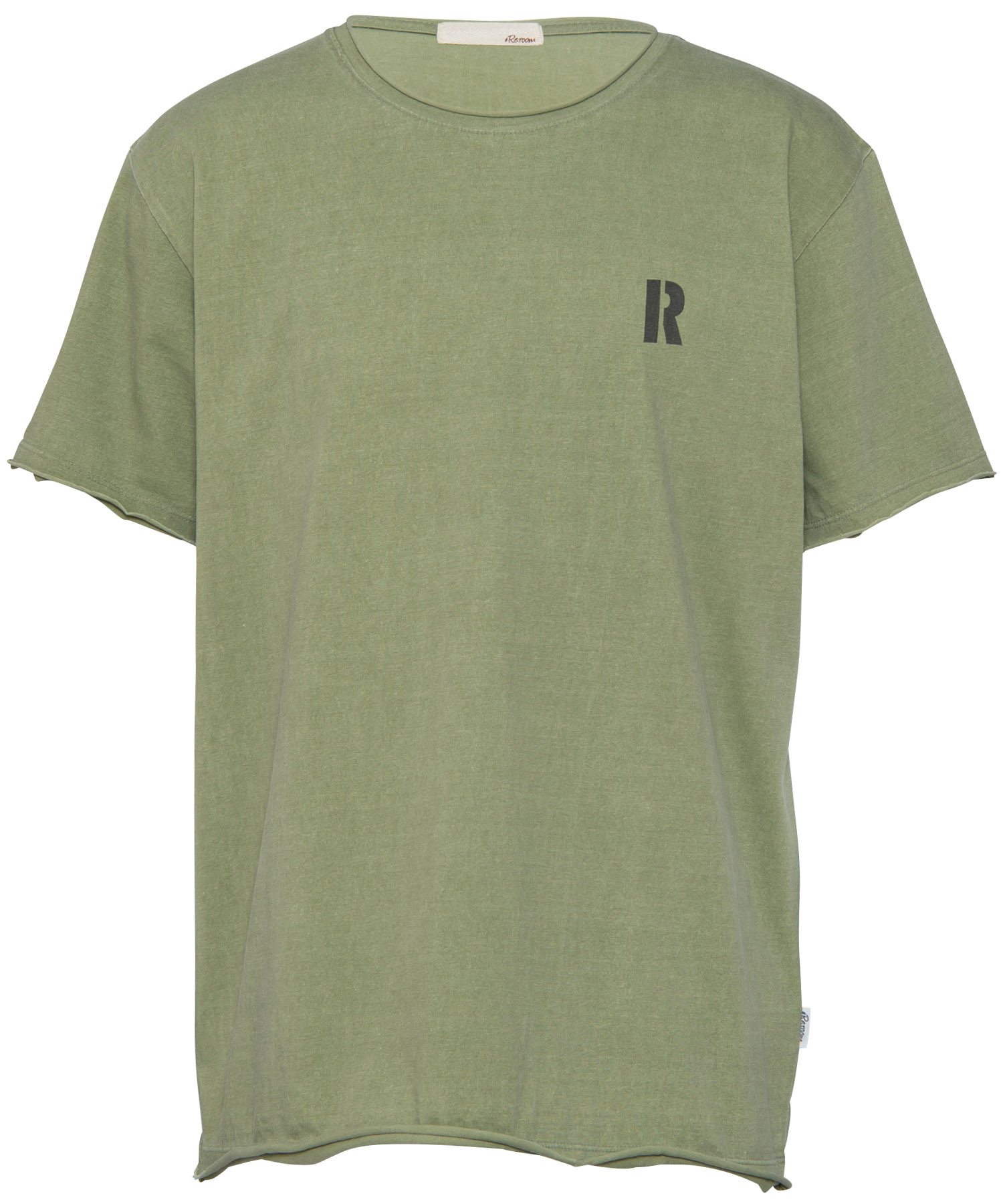 VINTAGE R ONE POINT BIG T-shirt[REC271]