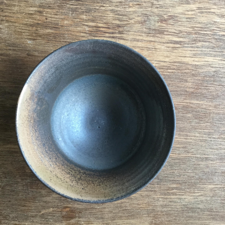【菊地亨】 碗(白土) 400 φ12.5㎝×h7.5㎝ 24 - 画像2