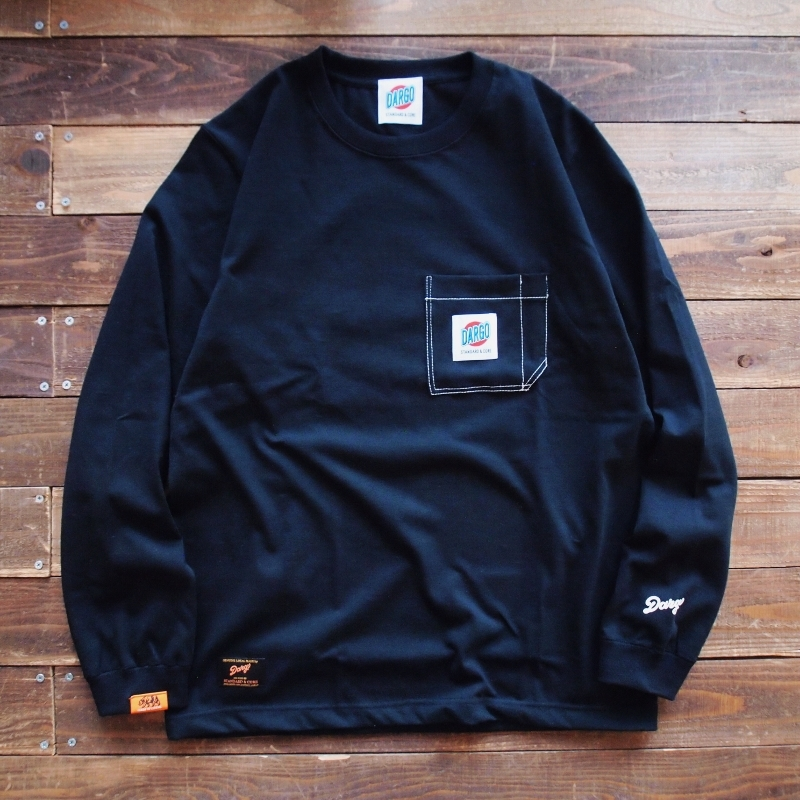 【DARGO】Working Pocket Long T-shirt (BLACK)